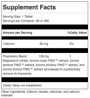 Chiropractic Brooklyn NY Symplex F Supplement Facts